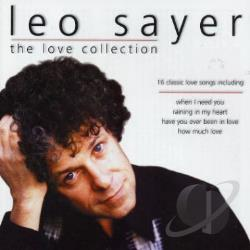 Sayer, Leo - Love Collection CD Cover Art