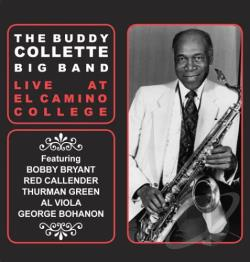 Collette, Buddy - Live at El Camino College CD Cover Art