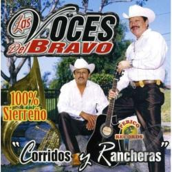Voces Del Bravo - Corridos Y Rancheras CD Cover Art