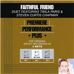 Paris, Twila - Faithful Friend (Performance Tracks) - EP DB Cover Art