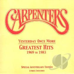 Carpenters - Yesterday Once More CD Cover Art
