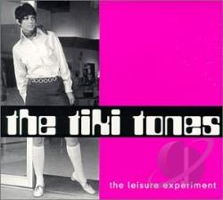 Tiki Tones - Leisure Experiment CD Cover Art