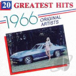20 Greatest Hits of 1966 CD Cover Art