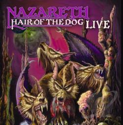 Nazareth Hair Of The Dog Live Cd Album