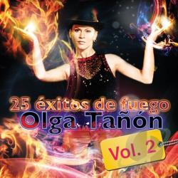 Tanon, Olga - 25 Exitos de Fuego, Vol. 2 CD Cover Art