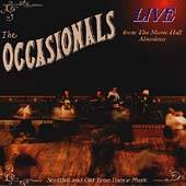 Occasionals - Live at the Music Hall, Aberdeen CD Cover Art