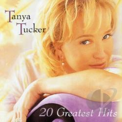 Tucker, Tanya - 20 Greatest Hits CD Cover Art