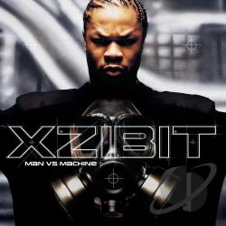 Xzibit - Man VS. Machine CD Cover Art