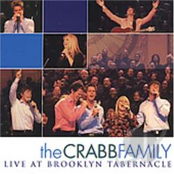 Crabb Family - Live At Brooklyn Tabernacle CD Cover Art