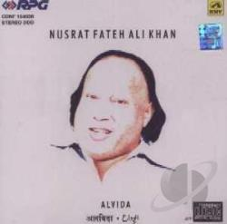 Ali Khan - Alvida? Nusrat Fateh CD Cover Art