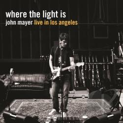 Mayer, John - Where the Light Is: John Mayer Live in Los Angeles LP Cover Art
