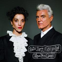 Byrne, David / St. Vincent - Love This Giant CD Cover Art
