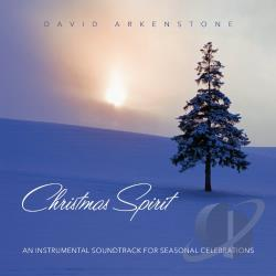 Arkenstone, David - Christmas Spirit: An Instrumental Soundtrack for Seasonal Celebrations CD Cover Art