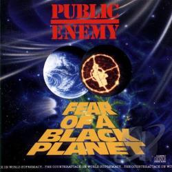 Public Enemy - Fear of a Black Planet CD Cover Art