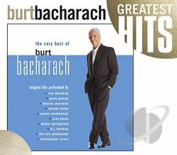 Bacharach, Burt - Very Best of Burt Bacharach CD Cover Art