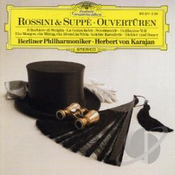 Bpo / Karajan / Rossini / Suppe - Rossini, Supp�: Ouvert�ren CD Cover Art