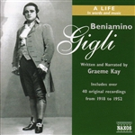 Gigli, Beniamino - Beniamino Gigli: A Life in Words and Music CD Cover Art