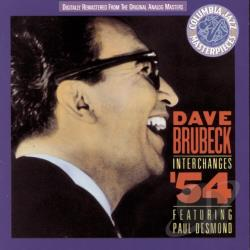 Brubeck, Dave - Interchanges '54: Featuring Paul Desmond CD Cover Art