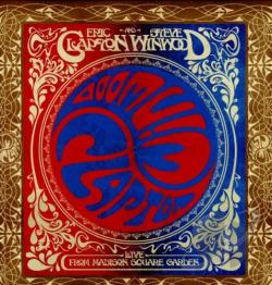 Clapton, Eric / Winwood, Steve - Live from Madison Square Garden LP Cover Art