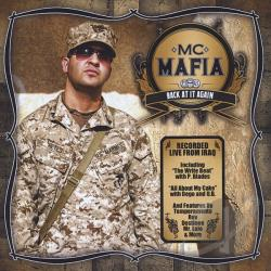MC Mafia - Back At It Again CD Cover Art