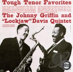 Griffin, Johnny - Tough Tenor Favorites CD Cover Art