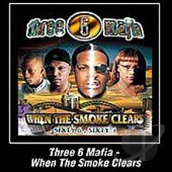 Three 6 Mafia - When the Smoke Clears CD Cover Art