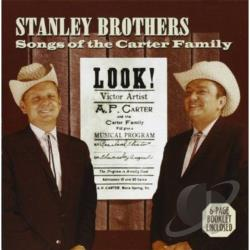 Stanley Brothers - Songs of the Carter Family CD Cover Art