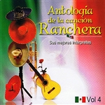 Various Artists - Antolog�a De La Canci�n Ranchera Volume 4 DB Cover Art