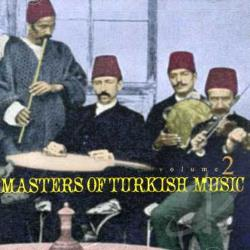 Masters of Turkish Music, Vol. 2 CD Cover Art