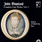 Dowland, J. - John Dowland: Complete Lute Works, Vol. 2 CD Cover Art