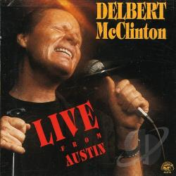 McClinton, Delbert - Live from Austin CD Cover Art