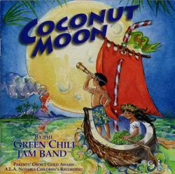 Green Chili Jam Band - Coconut Moon CD Cover Art