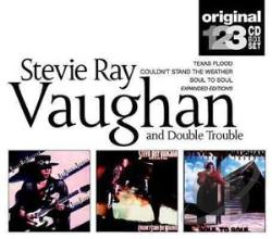 Vaughan, Stevie Ray & Double Trouble - Slipcase CD Cover Art