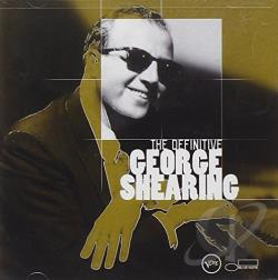 Shearing, George - Definitive George Shearing CD Cover Art