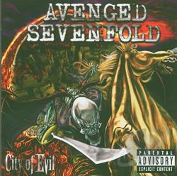Avenged Sevenfold - City of Evil CD Cover Art