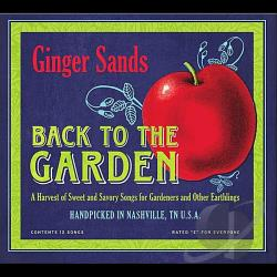 Sands, Ginger - Back To The Garden CD Cover Art