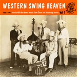 Various Artists - Western Swing Heaven Vol. 1 DB Cover Art