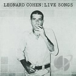 Cohen, Leonard - Live Songs CD Cover Art