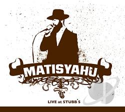 Matisyahu - Live at Stubb's CD Cover Art
