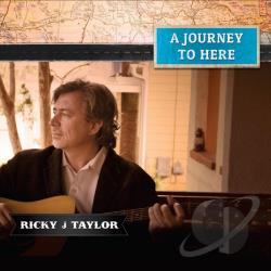 J, Ricky - Journey to Here CD Cover Art