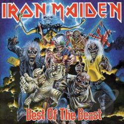 Iron Maiden - Best of the Beast CD Cover Art