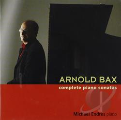 Endres, Michael - Arnold Bax: Complete Piano Sonatas CD Cover Art