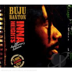 Banton, Buju - Inna Heights CD Cover Art