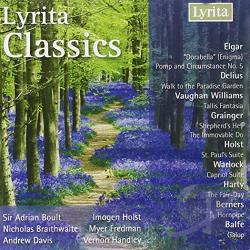 Braithwaite: cnd / Davis:cnd - Lyrita Classics CD Cover Art