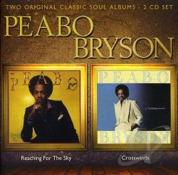 Bryson, Peabo - Reaching for the Sky/Crosswinds CD Cover Art