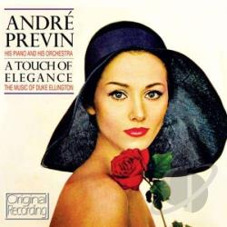 Previn, Andre - A Touch of Elegance CD Cover Art