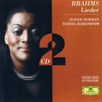Barenboim / Brahms / Christ / Norman - Brahms: Lieder CD Cover Art