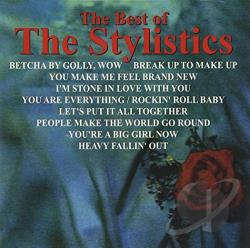 Stylistics - Best of the Stylistics CD Cover Art