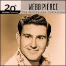 Pierce, Webb - 20th Century Masters - The Millennium Collection: The Best of Webb Pierce CD Cover Art