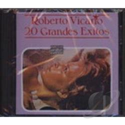 Vicario, Roberto - 20 Grandes Exitos CD Cover Art